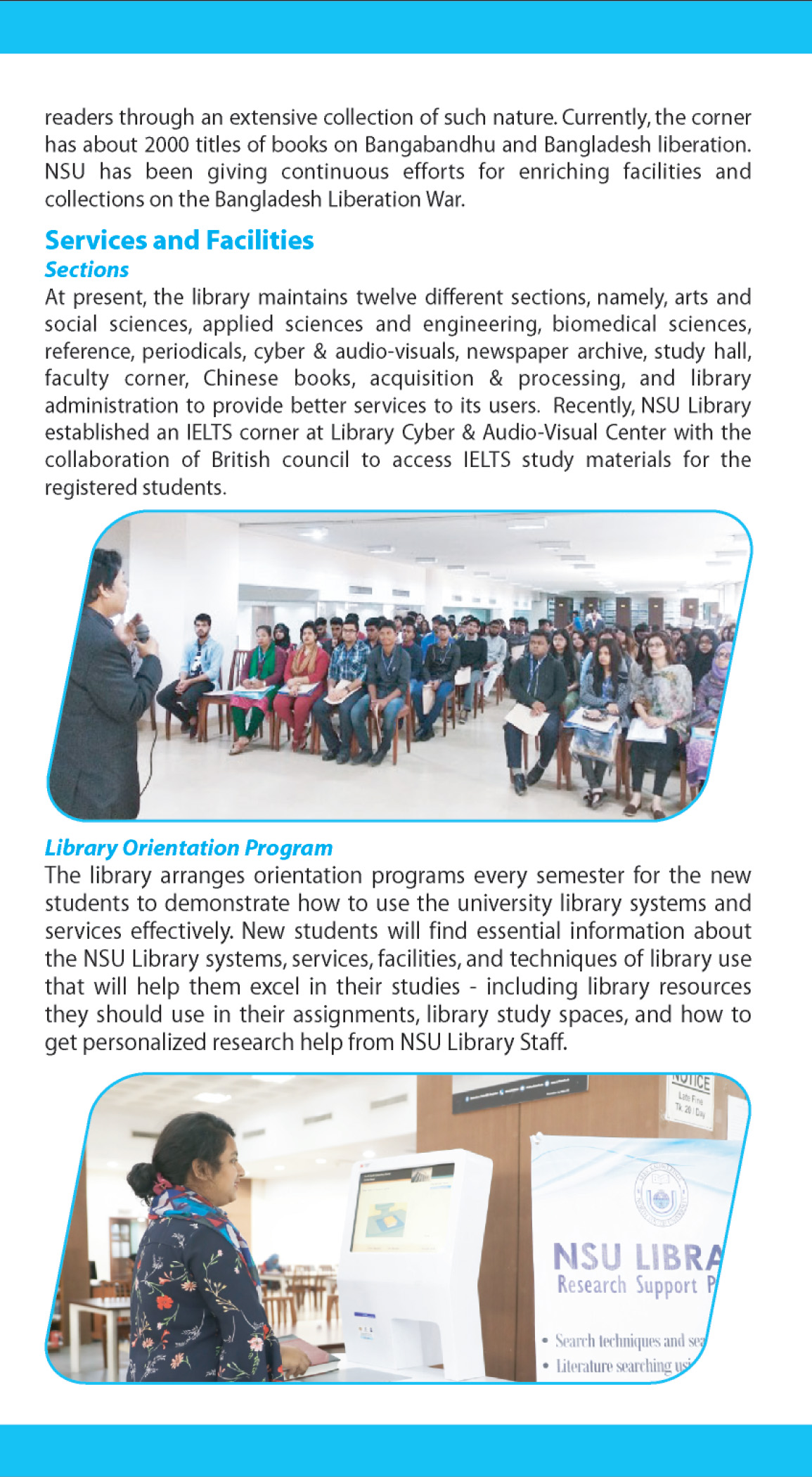 NSU Library Brochure