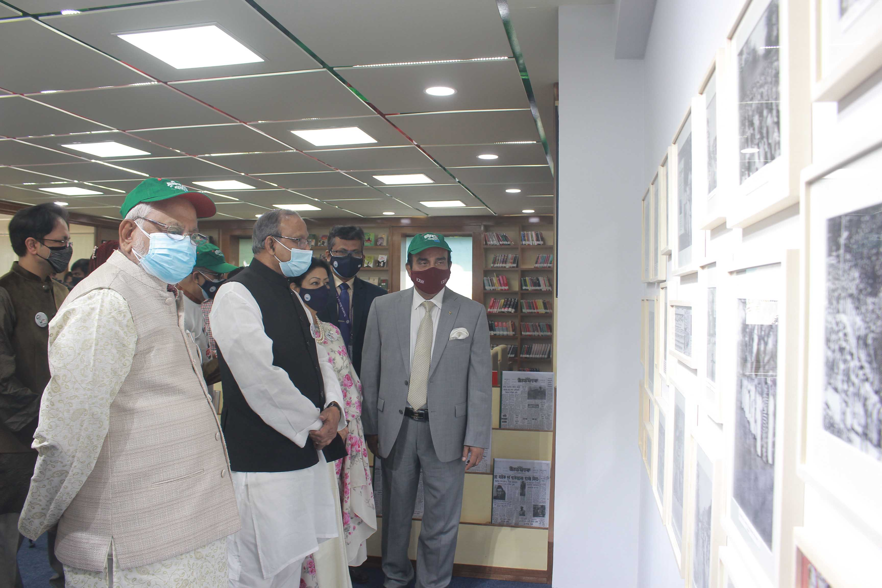 North South University Library inaugurates Bangabandhu and Liberation War Corner
